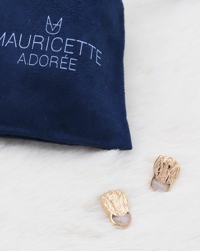 Boucles Zoé Calcite