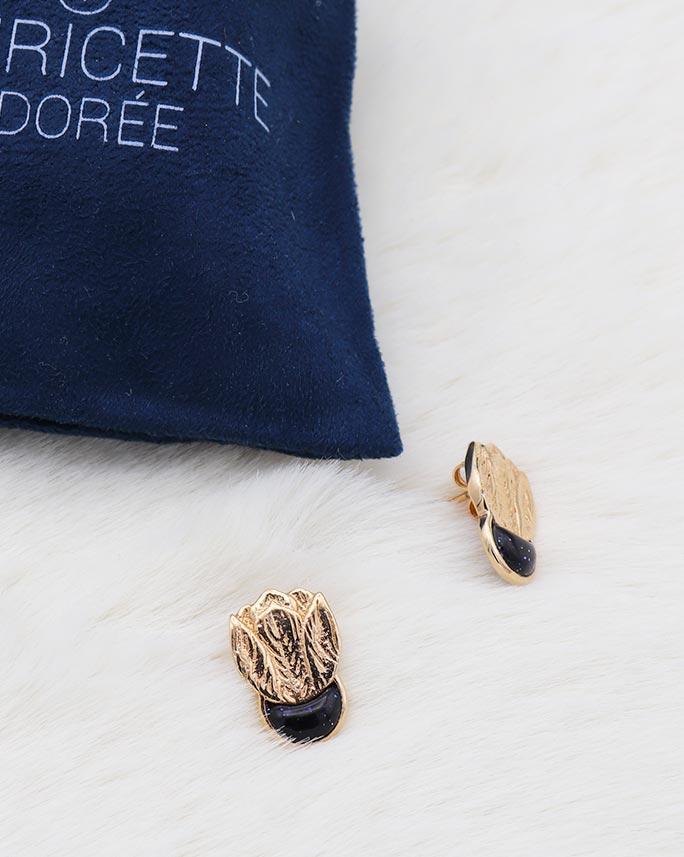 Boucles Zoé Blue sand