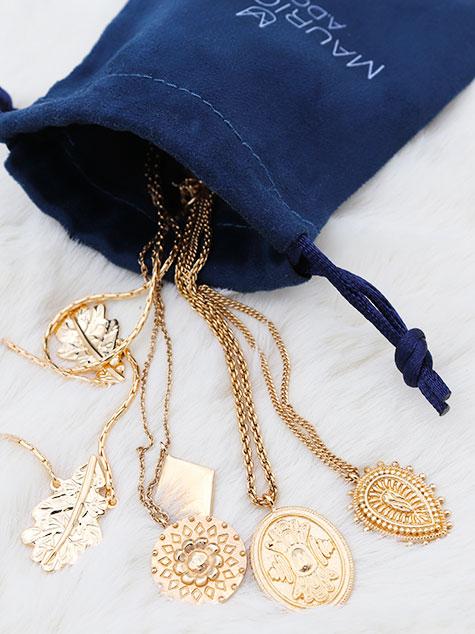 colliers plaqué or - mauricette a.dorée